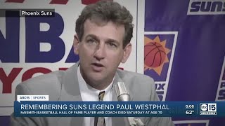 Phoenix suns legend paul westphal has died at the age of 70, according to reports.