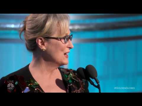 Thumbnail: Meryl Streep Gives Snobby Golden Globes Speech, Admits She Lost Her Mind, Bashes Trump and Cries!