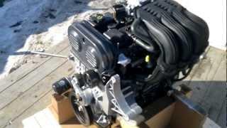 Двигатель Chrysler 2.4L в сборе на а/м Волга и ГАЗель