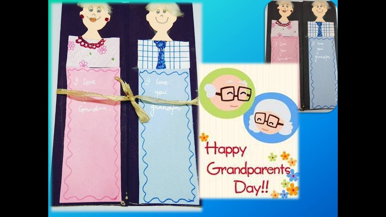 Happy grandparents day handmade card wishes and greetings youtube happy grandparents day handmade card wishes and greetings kristyandbryce Gallery