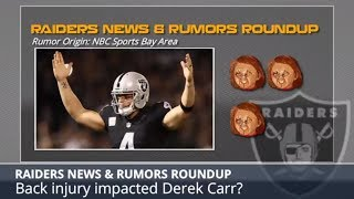 Oakland Raiders New & Updates