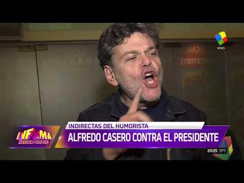 Alfredo Casero se comió una billetera