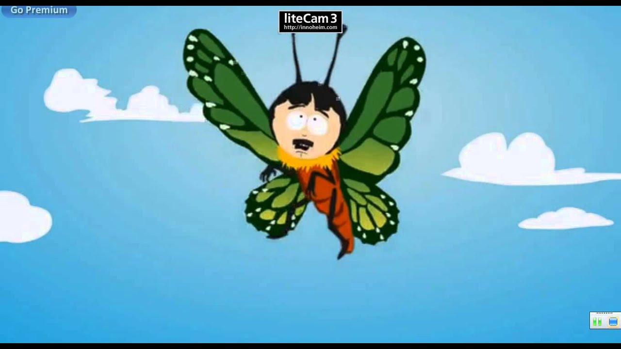 randy marsh as a butterfly youtube
