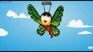 Randy Marsh as a Butterfly