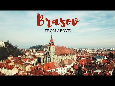 Brasov, Romania 2017 - BEST views - drone video