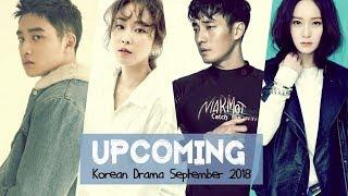 Upcoming Korean Drama September 2018