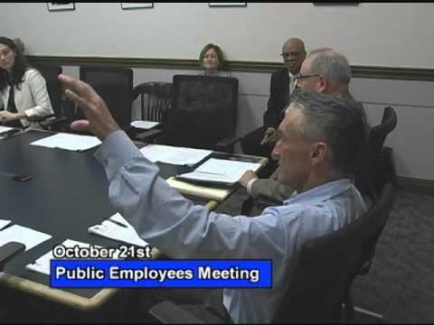 Public Employees - October 21, 2015