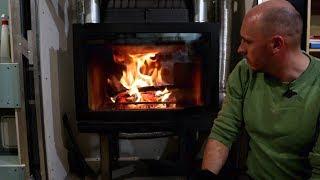 Видео обзор топки Jotul I570. Отопление дома при помощи камина