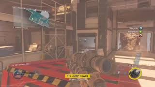 Finally got into the glitch spot under the map in scorch!