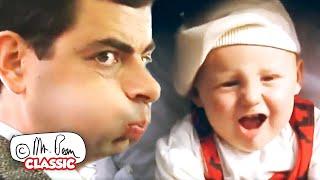 Mr Bean ရဲ့မွေးကင်းစကလေး။   မစ္စတာ Bean ကို Funny ကလစ်များ   ဂန္ထဝင် Mr Bean