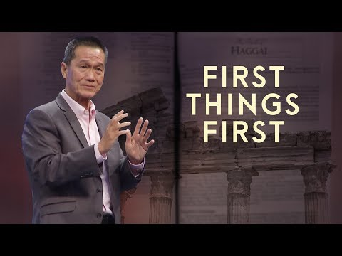 First Things First - First Thing's First - Peter Tanchi