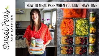 Meal Prep Mini Sessions To Help You Squeeze It In!