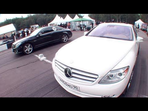 Mercedes CL63 AMG vs Mercedes CL600 Evotech