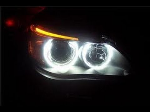 How To Install White Canbus Led Halo Ring Bulbs To Bmw E60
