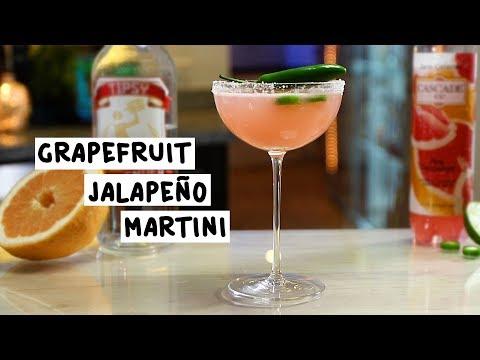 Grapefruit Jalapeño Martini