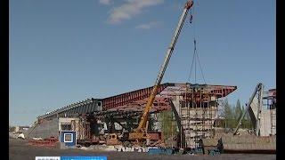 пролеты моста на Восточной эстакаде планируют установить до конца года
