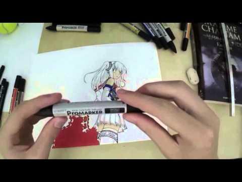Coloriser ses dessins avec des Promarker : Tuto !