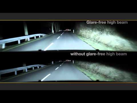 HELLA Glare-free High Beam - Driving with high beam without dazzling others