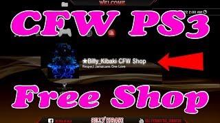 How to Install Billy Kibaki PS3 FreeShop On Jailbroken PS3