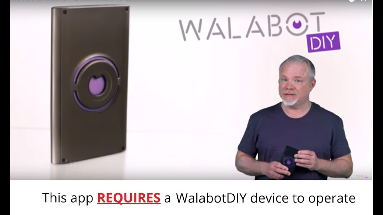 Walabot-DIY- More Than Just a Stud Finder - YouTube