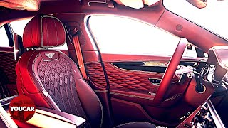 Bentley Flying Spur 2020 – Handmade Leather Interior – Luxury Car Factory