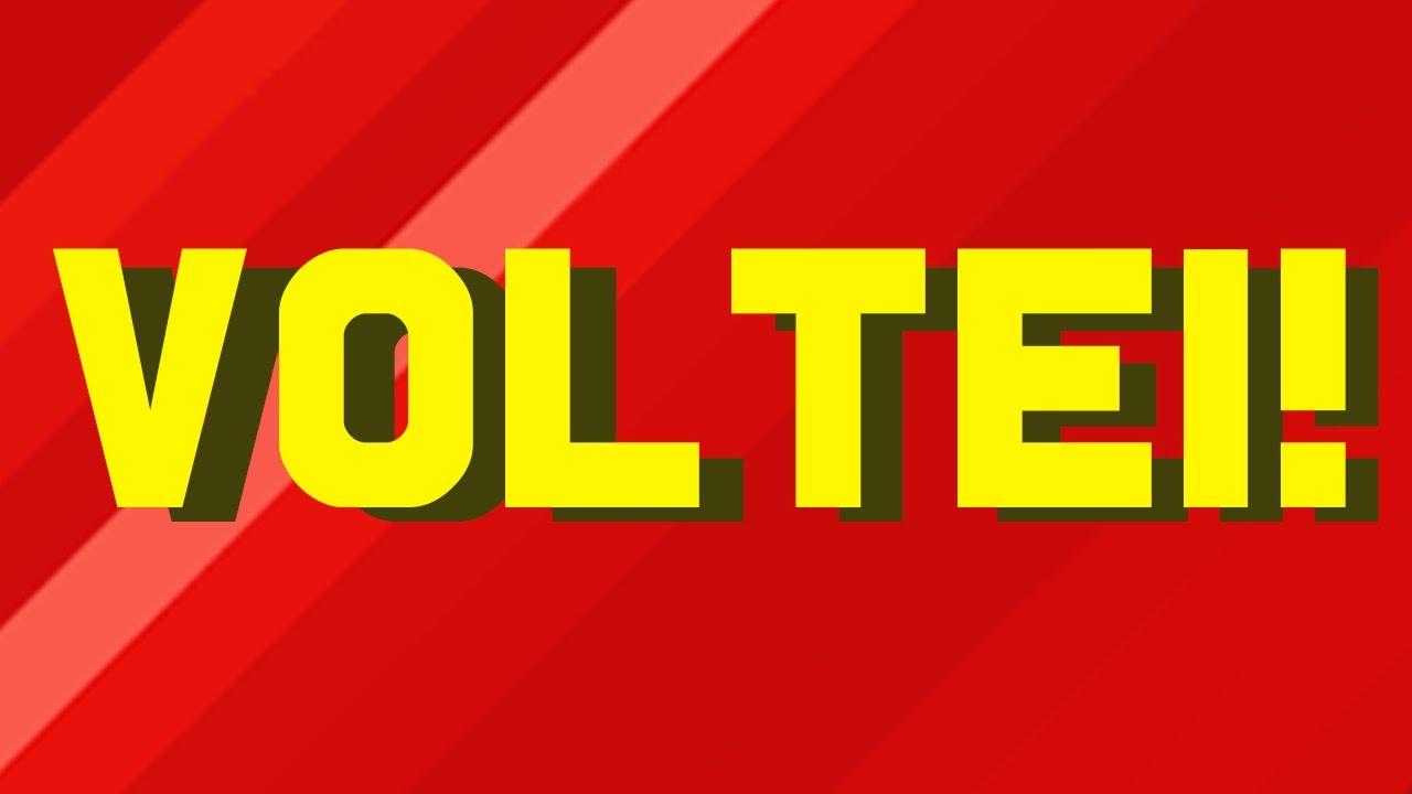 VOLTEI (depois de 745687335 tentativas)
