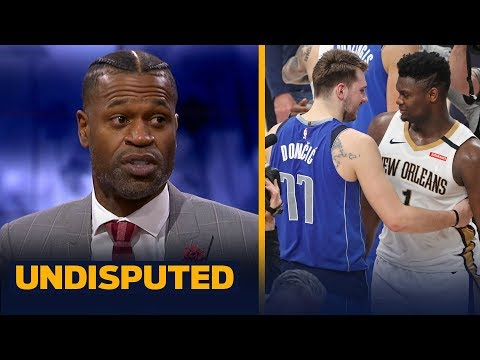 Luka has way more to his game than Zion, does everything better  Stephen Jackson | NBA | UNDISPUTED