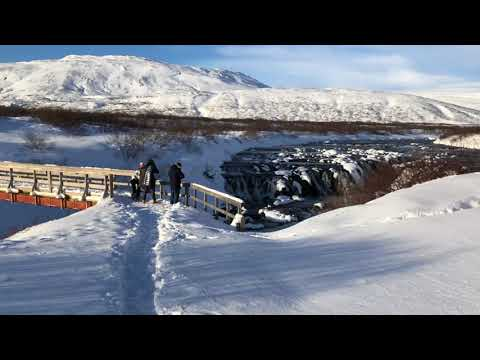 Bruarfoss Waterfall Iceland