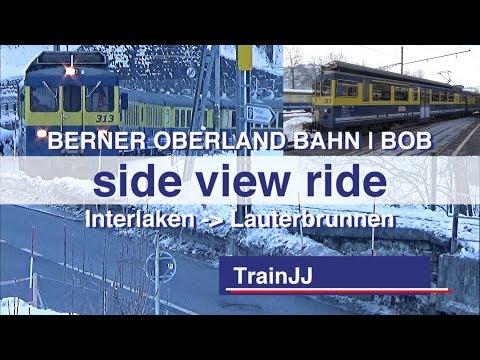 Jungfrau Region Winter | Interlaken - Lauterbrunnen Snow train | BOB | Best of the Alps Switzerland