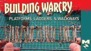 Building Warcry - Sprue Walkways and Ladders