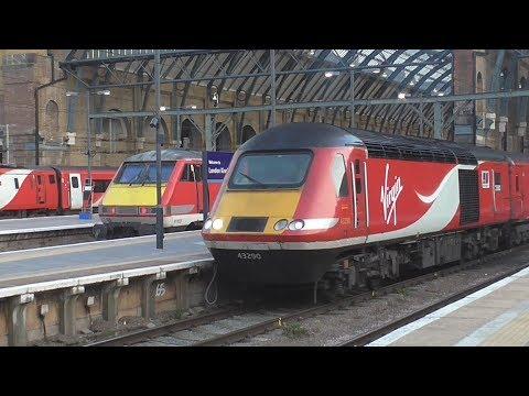 Trains at London King's Cross   06/04/2017