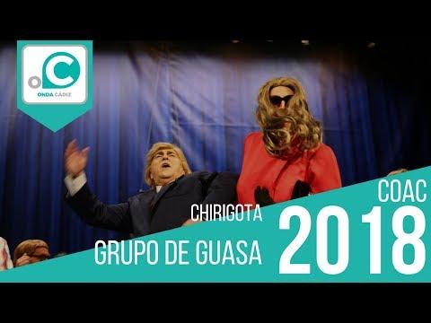 Chirigota, Grupo de guasa - Preliminares