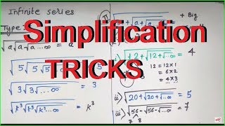Simplification Short Tricks in HINDI for IBPS PO / SSC shortcuts for simplification