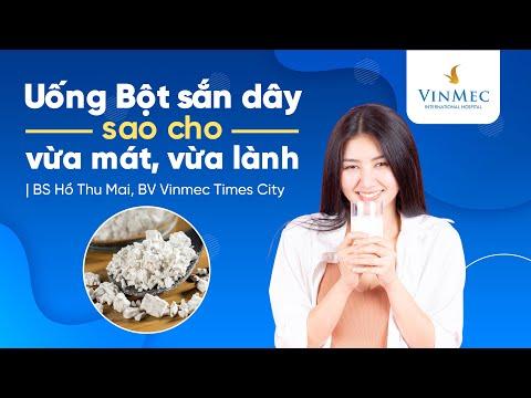 Uống bột sắn dây đúng cách   BS Hồ Thu Mai, BV Vinmec Times City