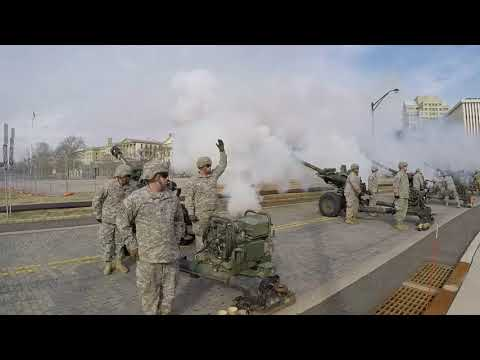 19-gun canon salute marks inauguration of New Jersey governor