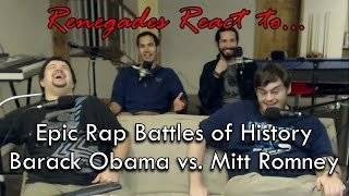 Renegades React to... Epic Rap Battles of History: Barack Obama vs. Mitt Romney