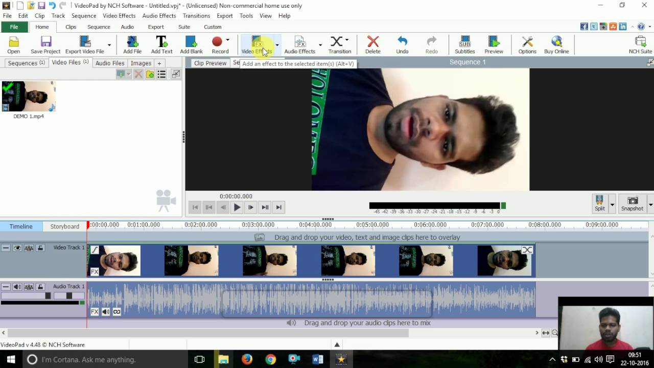 How to roate and edit your videos by video pad editor youtube how to roate and edit your videos by video pad editor ccuart Image collections