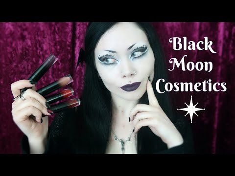 Black Moon Cosmetics    Review and Swatches - Liquid to Matte Lipstick