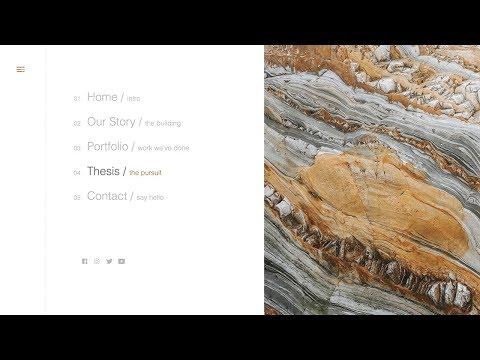 Minimal Navigation | HTML, CSS & JQUERY (GREENSOCK)