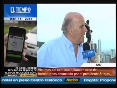 Maurice aplaude cese de bombardeos anunciado por Pdte. Santos