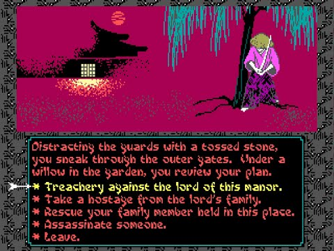 Let's play Sword of the Samurai 11 - Kidnapping |