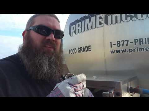 Prime Inc tanker - our pump