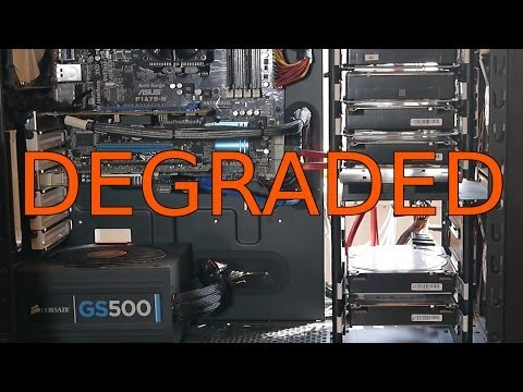 ZFS Pool Degraded, 2 Death Drives, ZFS NAS Homeserver Part 4: Replacement Vlog