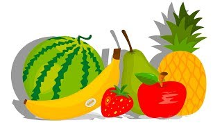 Анимационный Мультик про Фрукты и Овощи. Открываем Киндеры и Достаем игрушки Щенячий Патруль