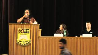 "Richard Stallman - ""Free software and your freedom"" at the launch of Fundația Ceata - part 2"