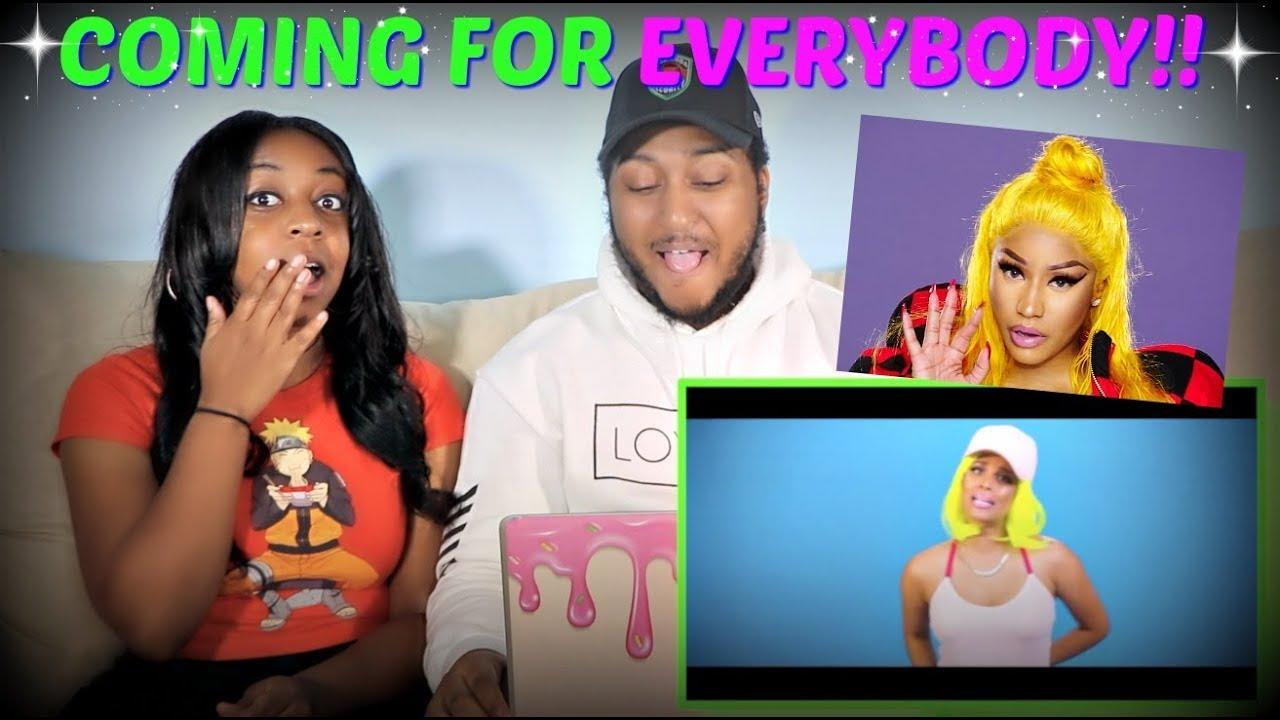"IISuperwomanII ""Nicki Minaj Barbie Dreams Parody (Roasting the Men of YouTube)"" REACTION!! #1"