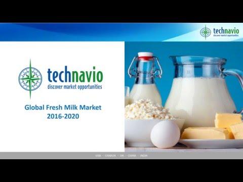 Global Fresh Milk Market 2016-2020