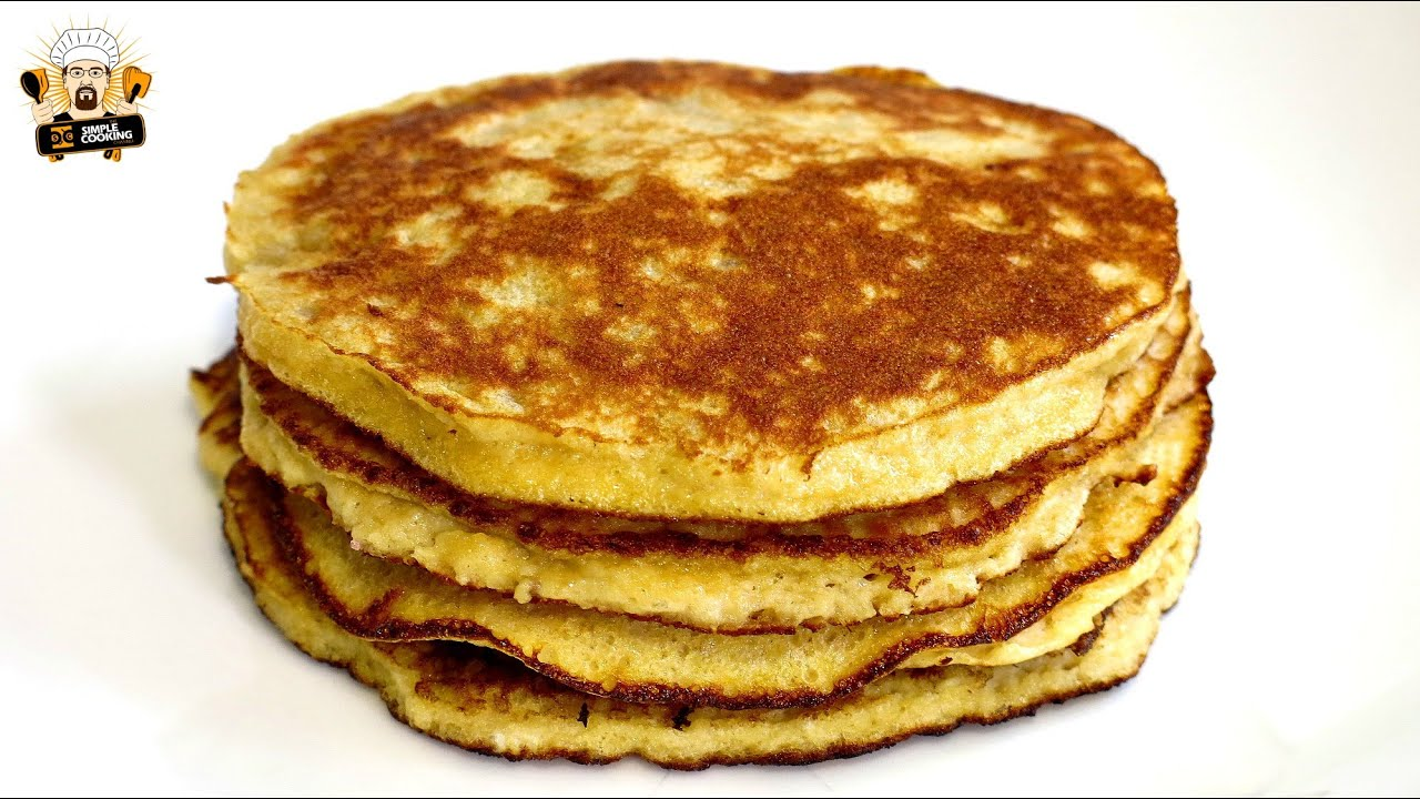 3 ingredient banana pancakes youtube 3 ingredient banana pancakes ccuart Image collections