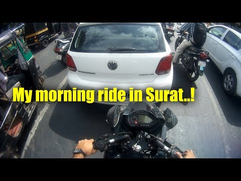 MY RIDE TO OFFICE | SURAT | VLOG