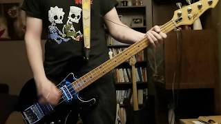 Rise Against - Blood-Red, White & Blue Bass Cover